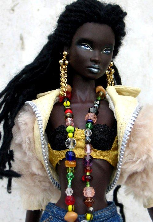 Black Natural Hair Barbie Dolls